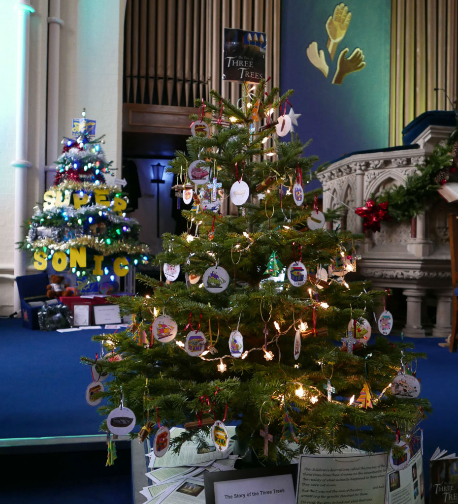 JUNIOR CHURCH: The Story of the Three Trees