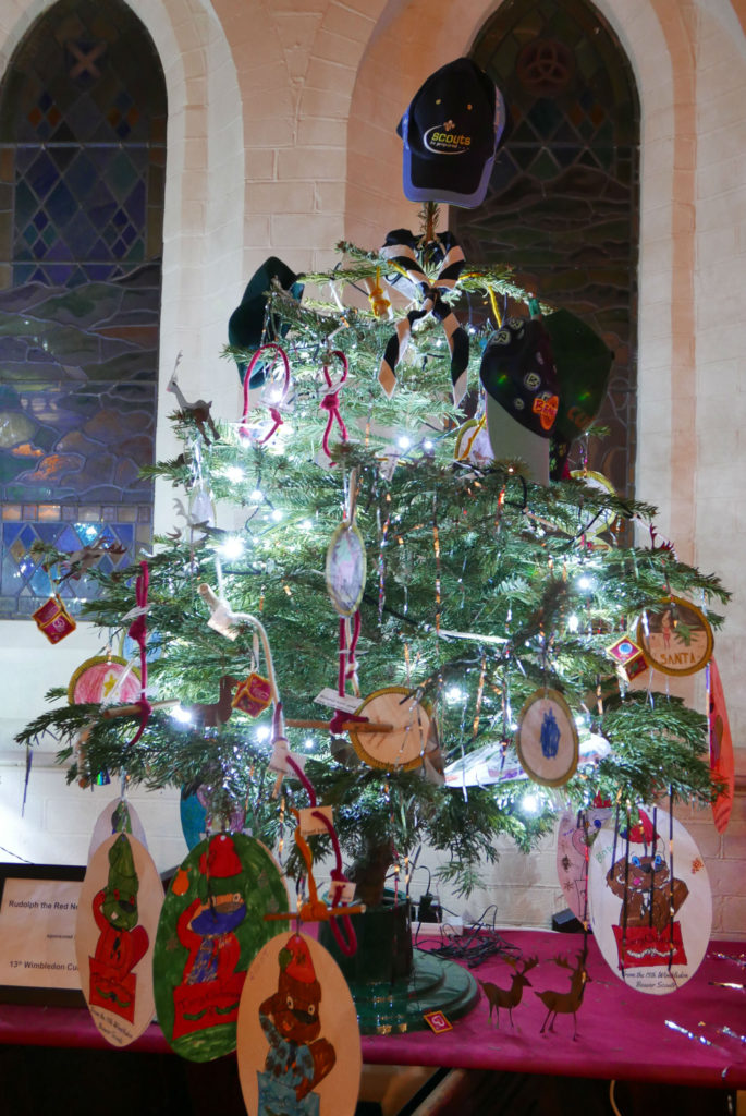 13th WIMBLEDON CUB SCOUTS:  Rudolph the Red Nosed Reindeer